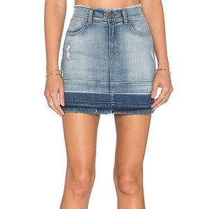 J Brand Rosalie Hi-rise Button Front Skirt Nwt 29 Buy One Give One Women's Clothing